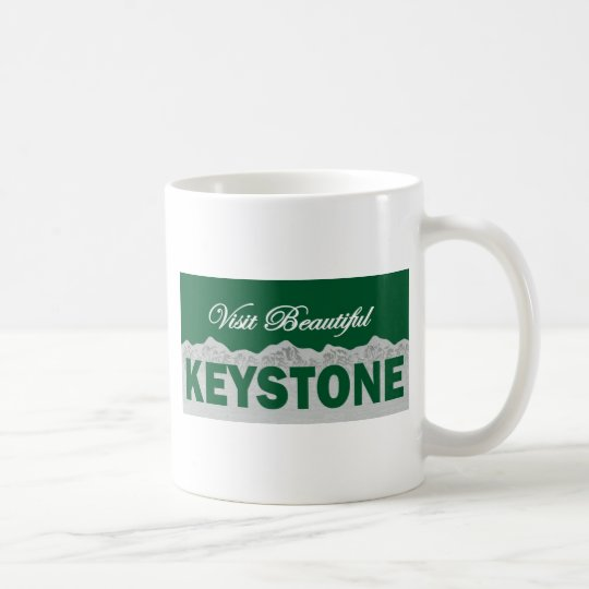 Visit Beautiful Keystone, Colorado Coffee Mug