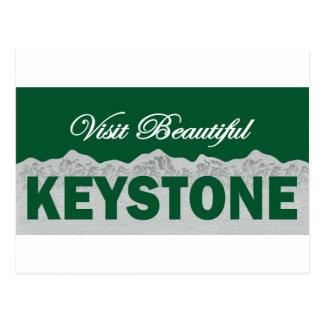 Visit Beautiful Keystone, Colorado Postcard