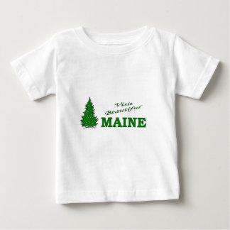 Visit Beautiful Maine Baby T-Shirt