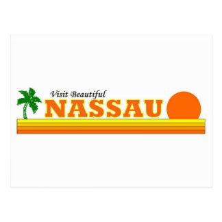 Visit Beautiful Nassau Postcard