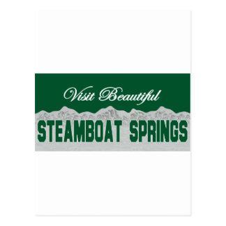 Visit Beautiful Steamboat Springs Postcards