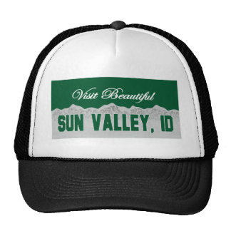 Visit Beautiful Sun Valley, Idaho Trucker Hat