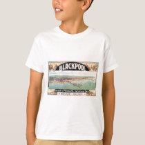 Visit Blackpool Poster T-Shirt