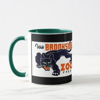 Visit Brookside Zoo Free - WPA Poster - Mug