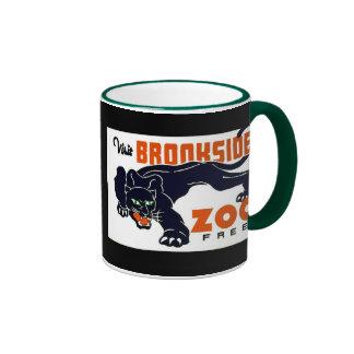 Visit Brookside Zoo Free - WPA Poster - Ringer Mug