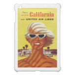 Visit California Vintage Travel Poster Cover For The iPad Mini