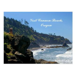 Visit Cannon Beach,Oregon Postcard
