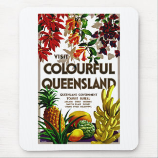 Visit Colorful Queensland Mouse Pad