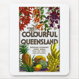 Visit Colourful Queensland Mouse Pad