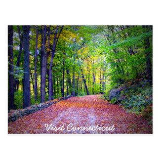 Visit Connecticut Postcard
