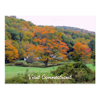 Visit CT Postcard