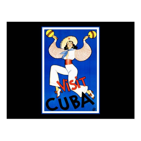 Visit Cuba Postcard