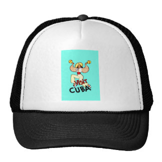 Visit Cuba Vintage Travel Trucker Hat