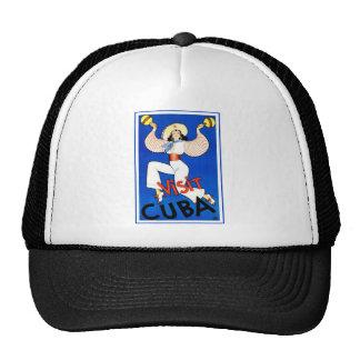 Visit Cuba Vintage Trucker Hat