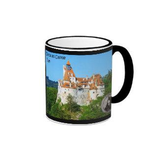 Visit Dracula's castle Ringer Coffee Mug