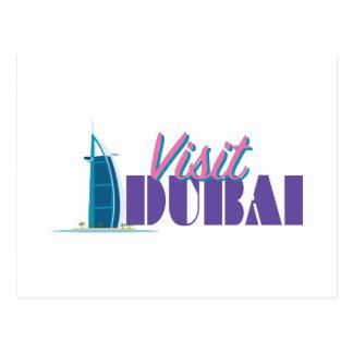 Visit Dubai Postcard