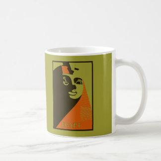 Visit Egypt, Great Sphinx, retro vintage style Coffee Mug