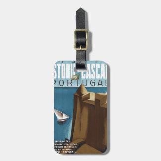 Visit Estoril Cascais Portugal Luggage Tag