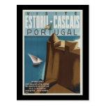 Visit Estoril-Cascais Portugal Postcard