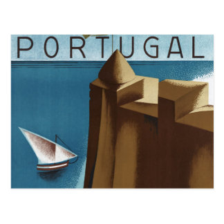 Visit Estoril Cascais Portugal Post Card