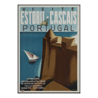 Visit Estoril-Cascais Portugal Poster