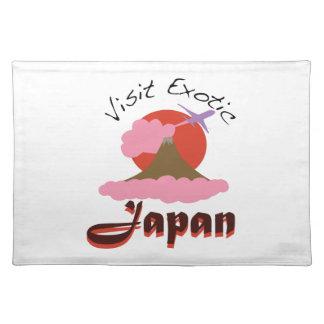 Visit Exotic Japan Cloth Placemat