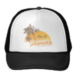 Visit Florida, the Weather's Great - hurricane Trucker Hats