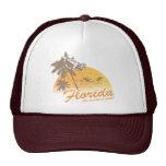 Visit Florida, the Weather's Great - hurricane Trucker Hat