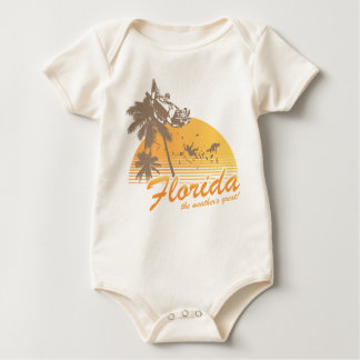 Visit Florida, the Weather's Great - hurricane Baby Creeper
