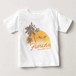 Visit Florida, the Weather's Great - hurricane Infant T-shirt