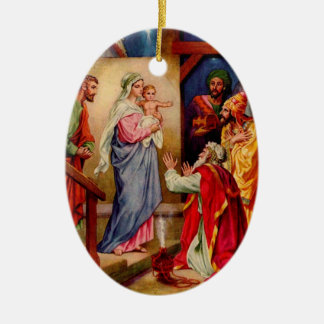 Visit from The 3 Wise Men Ornament