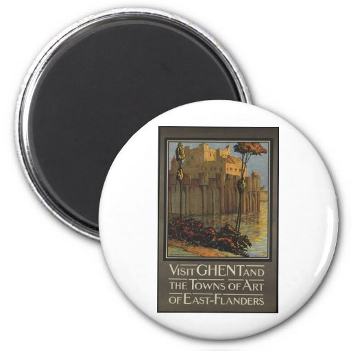 Visit Ghent and the towns of Art of East-Flanders Magnet