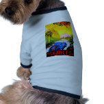 Visit Greece ~ Vintage Automobile Travel Ad Dog Clothes