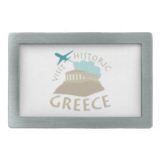 Visit Historic Greece Belt Buckles