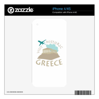 Visit Historic Greece iPhone 4S Skins