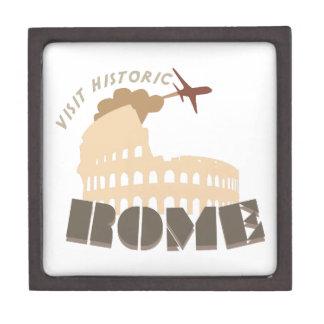 Visit Historic Rome Premium Keepsake Boxes