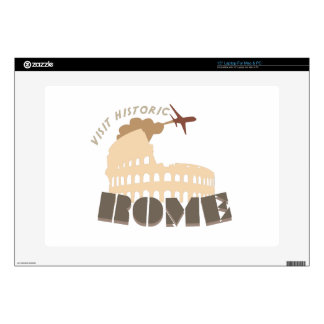 Visit Historic Rome Decal For Laptop