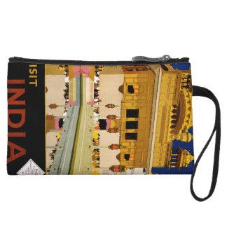 Visit India Wristlet Purses