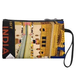 Visit India Wristlet Clutch