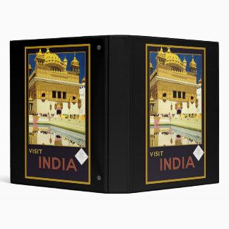 Visit India Binder