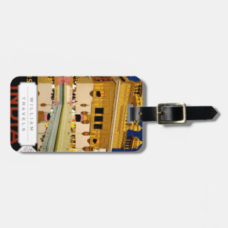 Visit India Luggage Tag