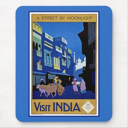 Visit India Mouse Pads