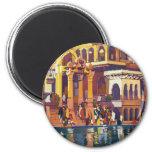 Visit India ~ Muttra Fridge Magnets