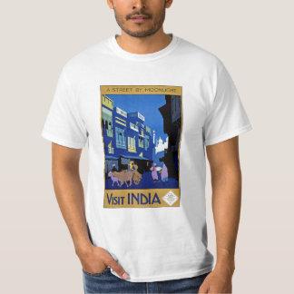 Visit India Vintage Travel Art T-Shirt