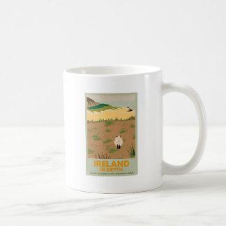 Visit Ireland Vintage Travel Poster Coffee Mug