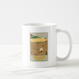 Visit Ireland Vintage Travel Poster Classic White Coffee Mug