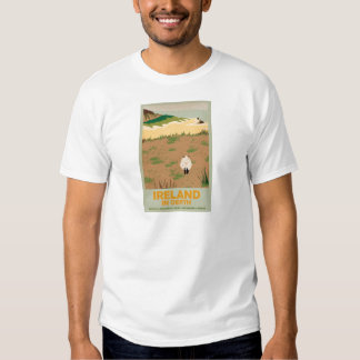 Visit Ireland Vintage Travel Poster T-shirt
