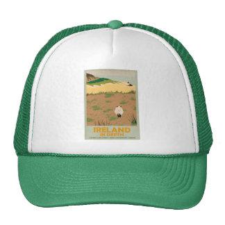 Visit Ireland Vintage Travel Poster Trucker Hat