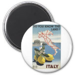 Visit Italy Poster Magnet