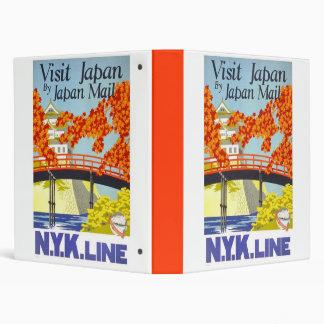 Visit Japan By Japan Mail 3 Ring Binder